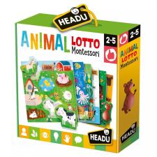 Headu Montessori lottó-Állatok Headu társasjáték