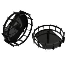 Hecht 8001004 Fém körmöskerekek (2Db) barkácsgép tartozék