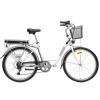 Hecht Prime White Elektromos kerékpár kosárral