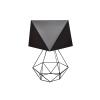 Helam Asztali lámpa ADAMANT SMALL 1xE27/60W/230V fekete
