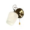 Helam Fali lámpa RONDO 1xE27/60W/230V bronz