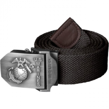 HELIKON-TEX USMC öv fém csattal fekete 4 cm női ruházati kiegészítő