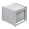HELIT Függőmappa tároló, műanyag, HELIT, világosszürke-