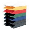 HELIT Irattálca, műanyag, HELIT Economy, kék (INH2361634)
