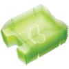 """HELIT Irattálca, műanyag, törhetetlen, HELIT """"Nestable Green Logic"""", áttetsző zöld"""