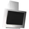 HelloShop Ezüstszínű rozsdamentes acél és edzett üveg páraelszívó 60 cm - Ezüst parcel - parcel  munkanap