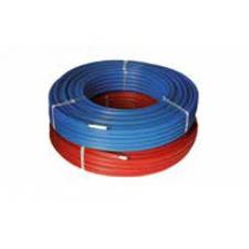 Henco Szigetelt Ötrétegű Alumíniumbetétes Cső 20x2 (6mm) PE-Xc/AL/PE-Xc piros (50fm/tekercs) hűtés, fűtés szerelvény