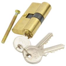 Hengerzárbetét, 30/30 mm, réz, 3 kulcsos, Flame (Zárbetét) zár és alkatrészei