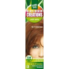 HennaPlus Kreatív hajszínező 7.54 tejeskávé hajfesték, színező