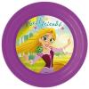 Hercegnők Disney Princess, Hercegnők lapostányér, műanyag 3D