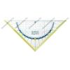 Herlitz My.pen geometriai háromszög vonalzó, 16 cm (törésbiztos), Zöld- Herlitz