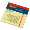 Herlitz öntapadó jegyzet 75x75 mm x 100 lap, sárga