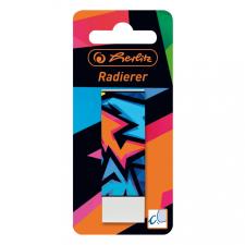 Herlitz Radír Neon Art, védőpapírral, bliszteres kiszerelés radír