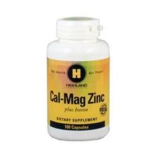 Highland Highland cal-mag plus zinc tabletta 100 db táplálékkiegészítő