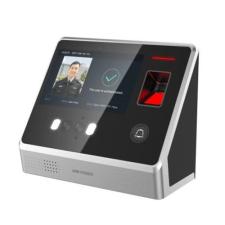 Hikvision DS-K1T605MF-B Arcfelismerő beléptető vezérlő terminál, Mifare kártyaolvasás, beépített akkumulátor biztonságtechnikai eszköz