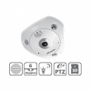 HIKVISION PRO Hikvision DS-2CD6362F-IVS fisheye dome kamera, 6MP(3072x2048), 1,27mm, IP66, D&N(ICR), 3DNR, DWDR, SD, Audio, PoE, I/O
