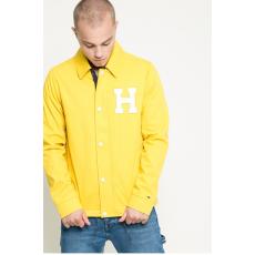 HILFIGER DENIM - Rövid kabát Varsity Coach - sárga