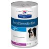 Hill's Prescription Diet 24x370 g Hill's Prescription Diet Canine d/d Allergy & Skin Care nedves kutyatáp - kacsa