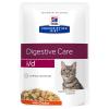 Hill's Prescription Diet 24x85g Hill's Prescription Diet i/d Digestive Care csirke macskatáp