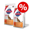 Hill's Science Plan Hill's Feline gazdaságos dupla csomag - Adult Sensitive Stomach & Skin csirke (2 x 5 kg)