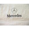 Hímzett Mercedes törölköző