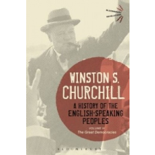 History of the English-Speaking Peoples Volume IV – Winston S. Churchill idegen nyelvű könyv
