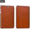 Hoco - Crystal series bőr Samsung Tab A 9.7 tablet tok - piros