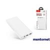 Hoco HOC0019 J55 2XUSB-A/Type-C/microUSB fehér powerbank