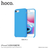 Hoco minimalista szilikon tok Apple iPhone 7 / 8 - kék