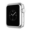 Hoco - okos óra ultravékony TPU fémes szélű védőtok Apple Watch Series 2 38 mm - ezüst