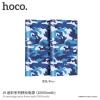 Hoco power bank / külső akkumulátor 10000mAh Apple iPhone - kék terepmintás