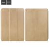 Hoco - Sugar series anilin bőr iPad Pro 12.9 tablet tok - arany