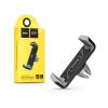 Hoco Univerzális szellőzőrácsba illeszthető PDA/GSM autós tartó - HOCO CPH01 Air Outlet Stents Car Holder - fekete/szürke