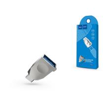 Hoco USB - USB Type-C OTG adapter - HOCO UA9 - USB 3.0 - silver kábel és adapter