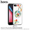 Hoco védőtok hímzett mintával Apple iPhone 7 Plus / 8 Plus - rózsaszín virág