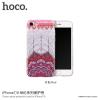 Hoco védőtok mandala mintával Apple iPhone 7 / 8 - piros