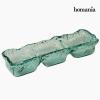 Homania Újrahasznosított Üveg Asztaldísz Újrahasznosított üveg (38 x 13 x 10 cm) by Homania