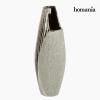 Homania Váza Kerámia Ezüst - Queen Deco Gyűjtemény by Homania