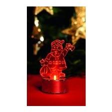 Home by Somogyi Home LED-es mécses dekoráció, mikulás (CDM 1/S) karácsonyfa izzósor
