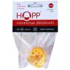 Hopp cseresznye 0-6 fluoreszkáló cumi 1db