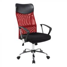 Hoppline Ergonomikus irodai szék magasított háttámlával, piros