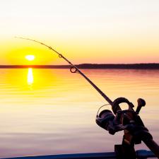 Horgász szett horgászbottal horgászbot