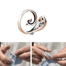 Horgológyűrű, gyűrű kötéshez kötőtű, horgolótű