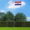 Horvát zászló 90 x 150 cm