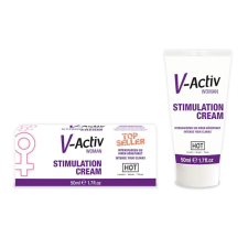 Hot V-Activ STIMULATION CREAM for WOMEN - 50ml vágyfokozó