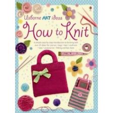 How to Knit idegen nyelvű könyv