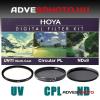 Hoya Digital Filter Kit UV,CPL,ND 43mm szűrőkkel