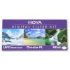 Hoya szűrő szett (UV(C), Circular Polar, NDx8) 55mm