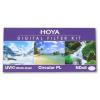 Hoya szűrő szett (UV(C), Circular Polar, NDx8) 62mm