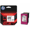 HP 652  F6V24E színes festékpatron - eredeti Ink Advantage 1115 2135 3635 3835 4535 4675